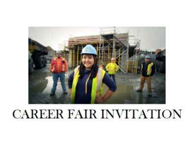 2018 CAREER FAIR invitation feature image January 2018